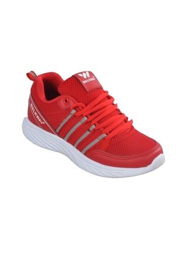 Walkway 1876 KırmızıUnisex Spor Ayakkabı Kırmızı